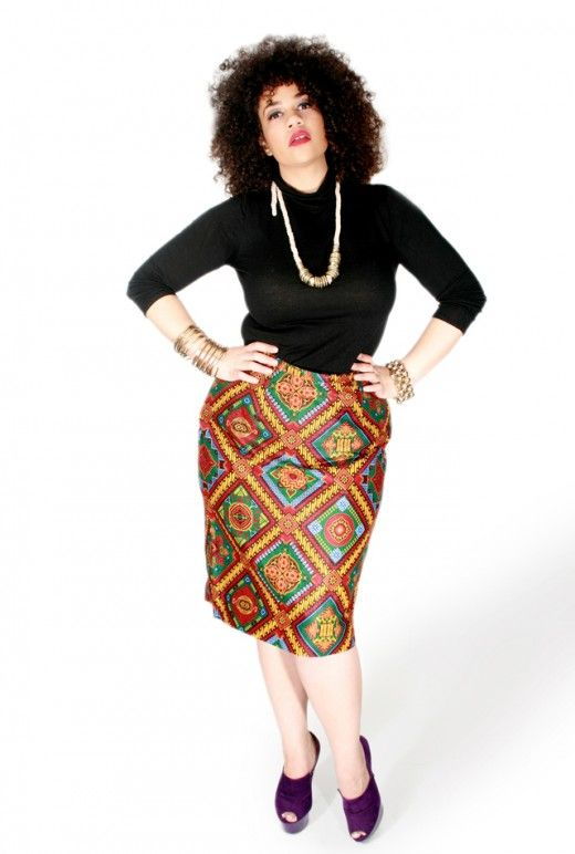 AFRICAN-INSPIRED CLOTHING COLLECTION FOR FULL FIGURED ...