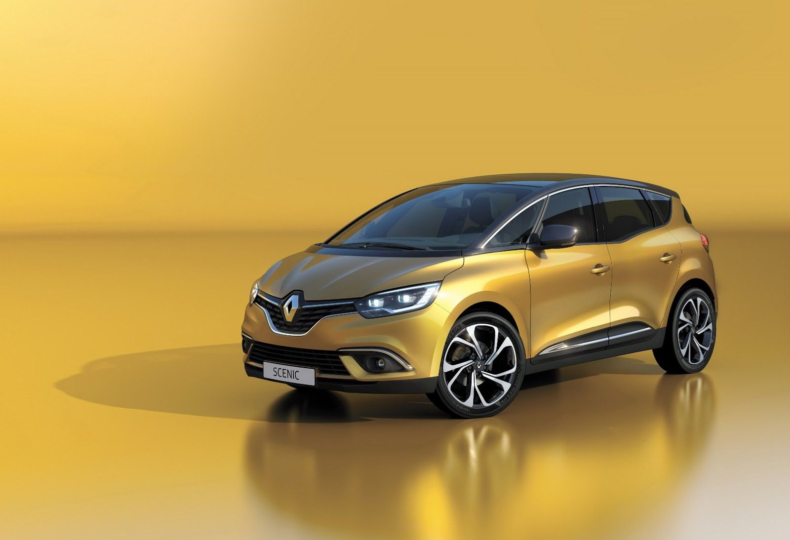 New Renault Scenic Blurs The Styling Line Between Minivans And