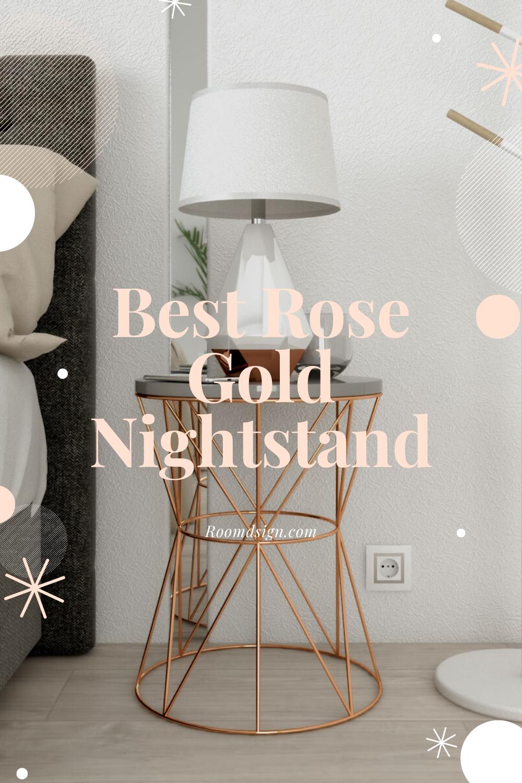 Room Design Com: Best Rose Gold Nightstand In 2020