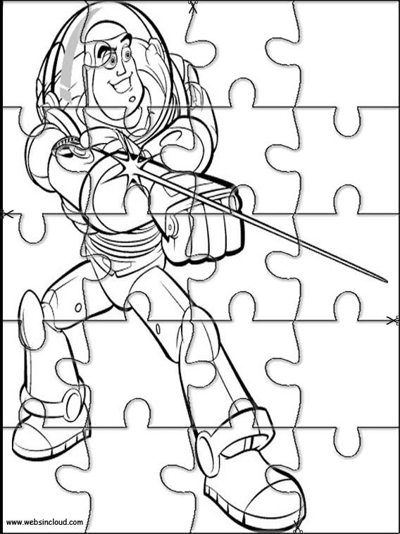 Printable jigsaw puzzles to cut out for kids Toy Story 5 Coloring ...