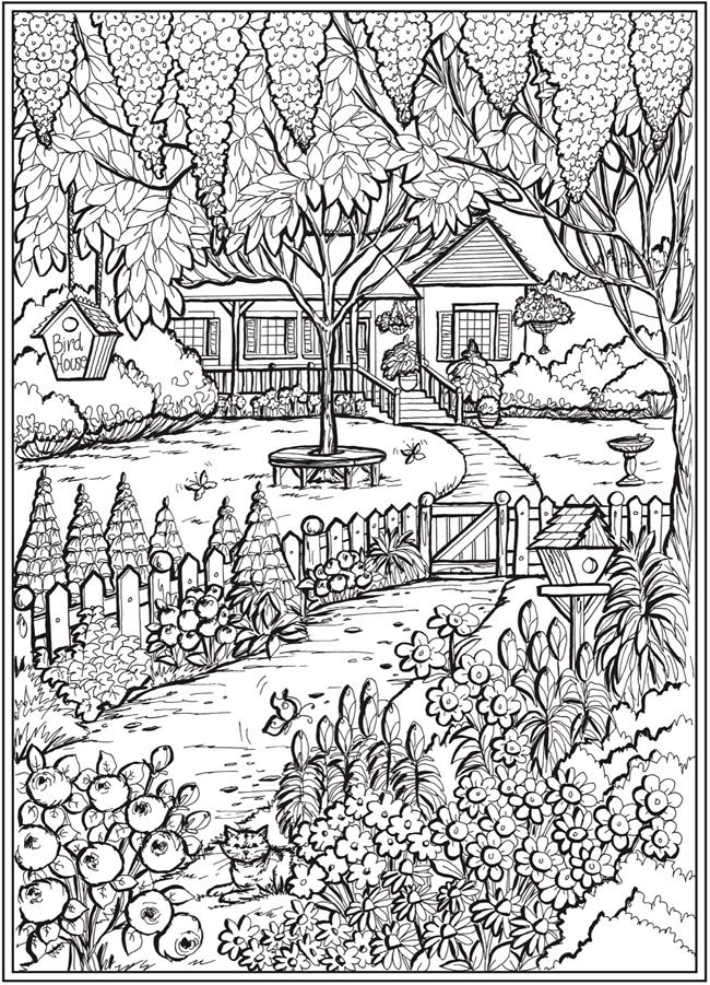 Welcome to Dover Publications - CH Country Gardens in 2020 ...