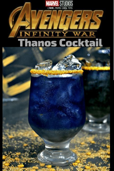 Photo of Thanos, I can't go with you: Marvel Infinity War inspired Thanos Cocktail Recipe – Cocktails Blog