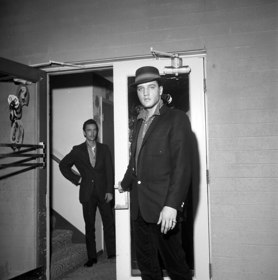 Elvis, May 28,1960 At Sahara Hotel.