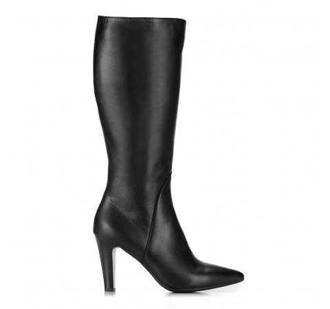 Ocieplane Kozaki Damskie Ze Skory Licowej Wittchen 87 D 206 Knee High Boots Boots Womens Knee High Boots