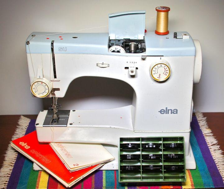 Elna SU Star Series Sewing Machine My First Elna Purchased From A Fascinating Elna Su Sewing Machine