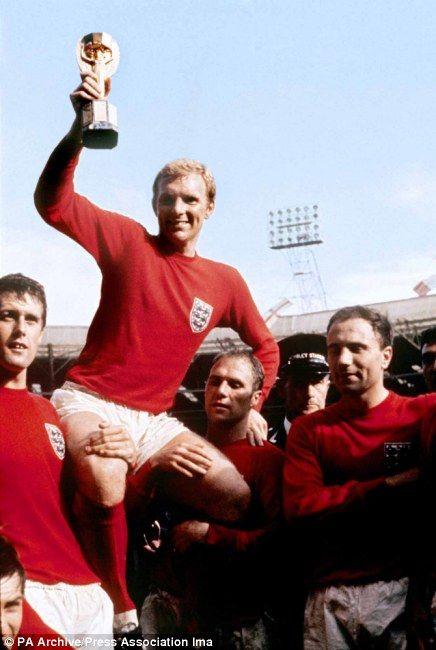 The List 50 Great Sporting Photographs Nos 20 11 England Football Team England National Football Team Bobby Moore