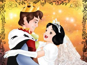 Snow white and prince disney couples photo disney princess and animated heroines disney - Blanche neige et son prince ...