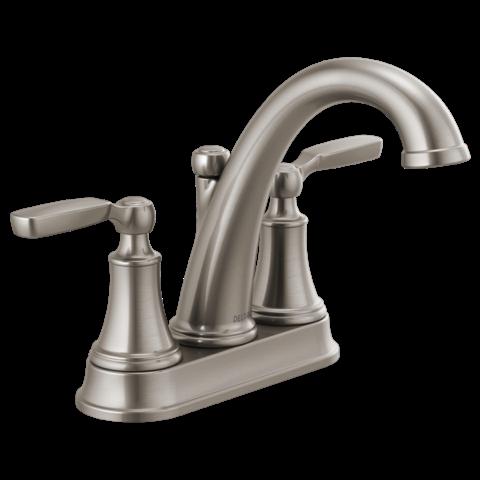 Bathroom Delta Woodhurst Brushed Nickel Delta Faucets Delta Faucets Bathroom Bathroom Sink Faucets