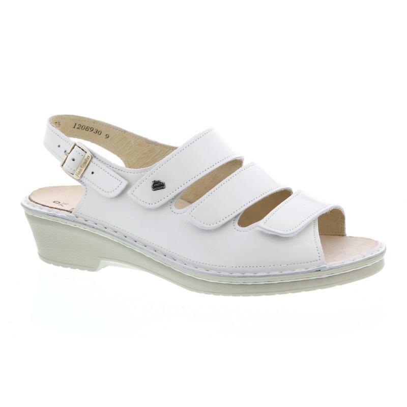 Finn Comfort Samos Sandale 2601 050008 Damenschuhe Bootsschuhe Filzpantoffeln