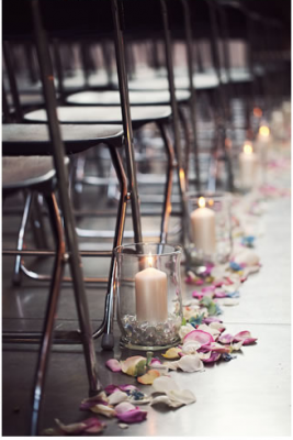 8 Inspiring Ways To Decorate Your Wedding Aisle