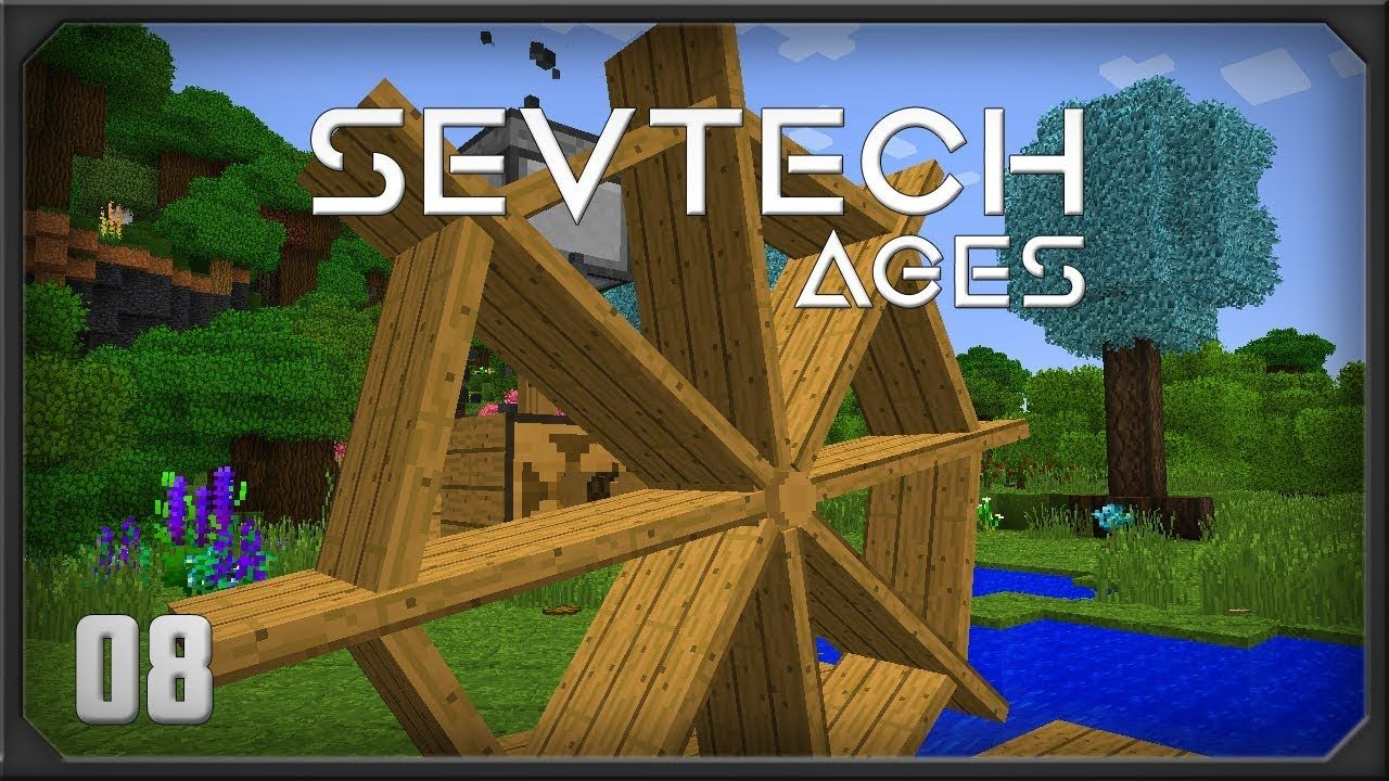Sevtech Ages EP8 The Beneath Portal Better with mods