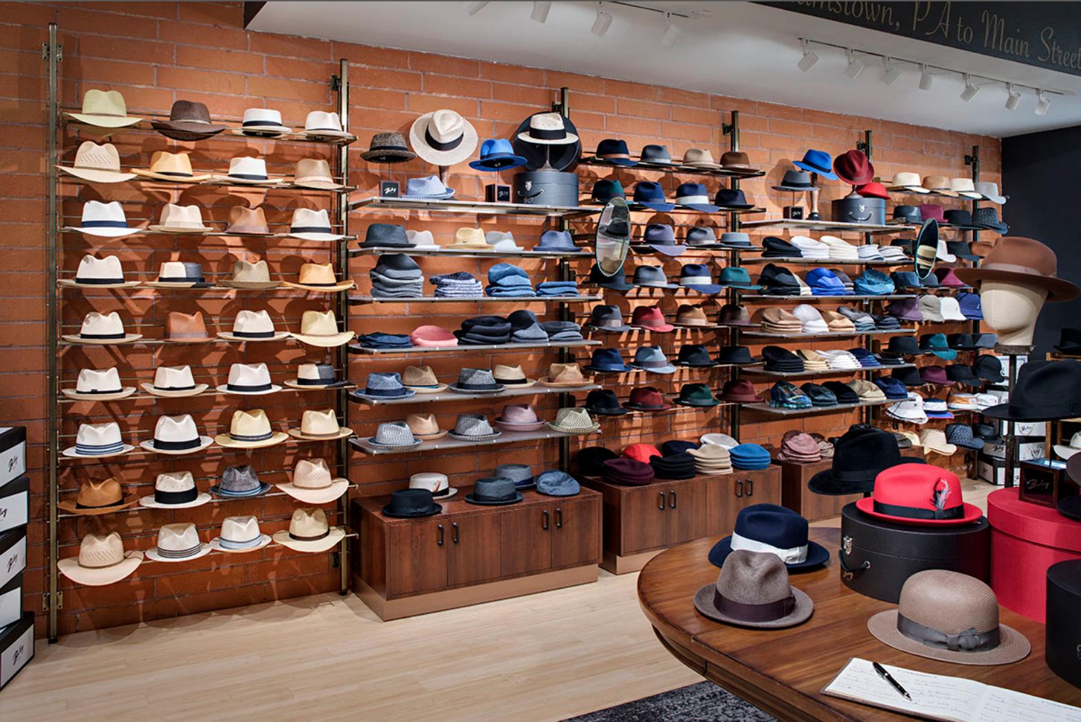 Hats Off To This Retail Display Hat Display Retail Display Portfolio Design