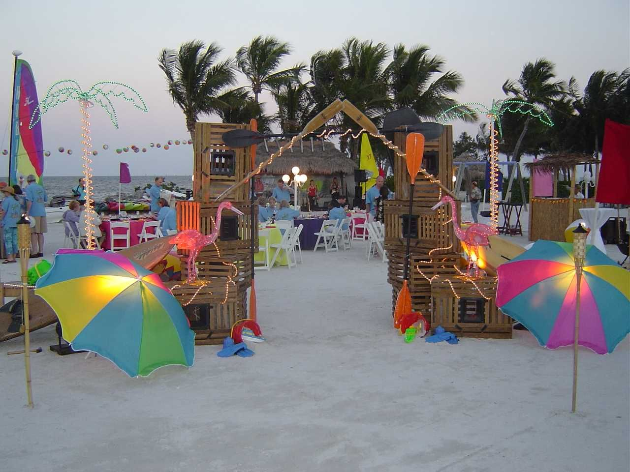 Amazing Decorating Ideas, Online Decoration Tips: Beach Party Decoration pic