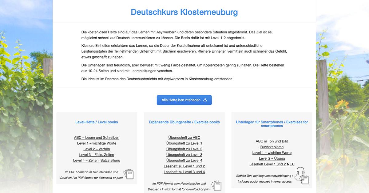 Deutschkurs Klosterneuburg | DAF | Pinterest
