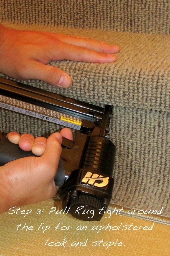 Transform your stairs! Install a DIY Carpet Stair Runner ...