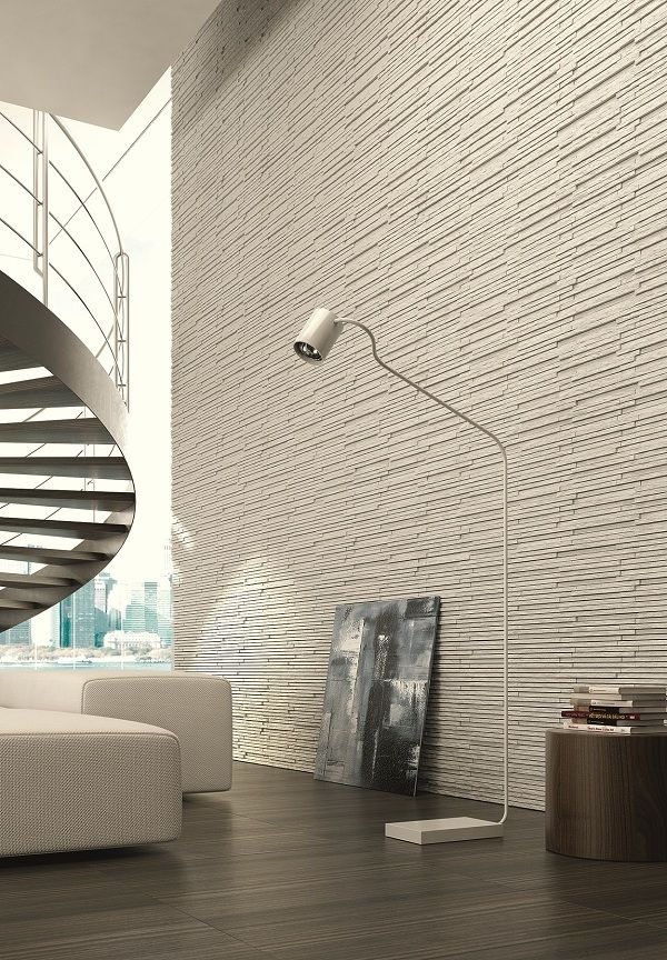 Manhattan Intermix At The Inax Gallery Opening Interior Architecture Design Feature Wall Cladding Stone Feature Wall