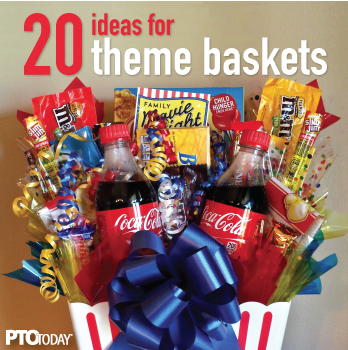20 Ideas For Theme Baskets For Ptos And Ptas Movie Basket Gift