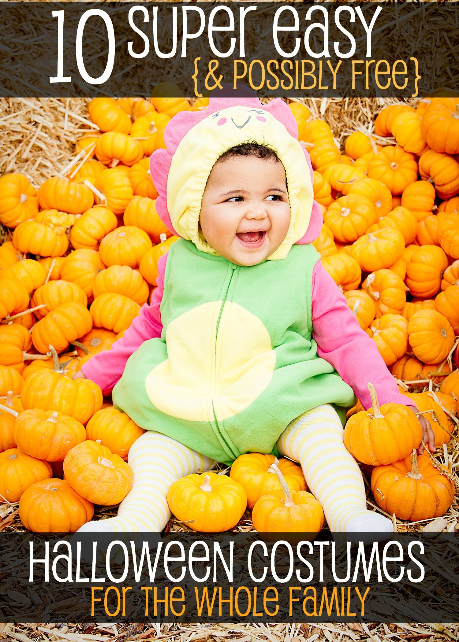 10 Super Easy And Possibly Free Halloween Costumes For The Whole Family