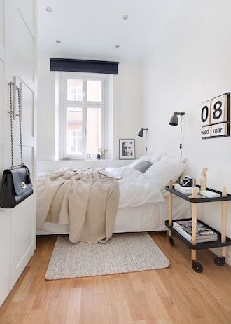 9 Ways To Make A Small Bedroom Look Larger