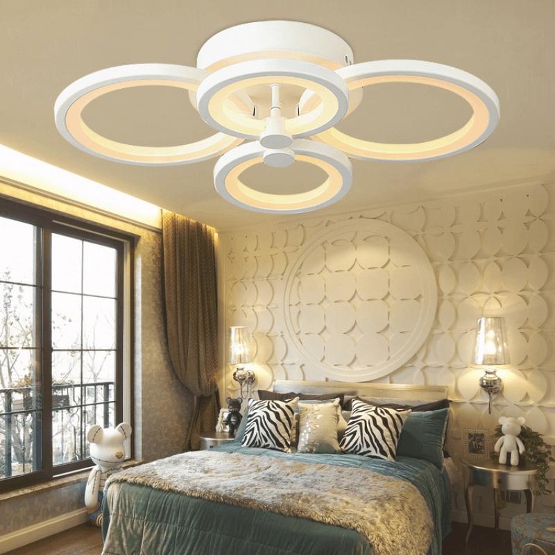 Schlafzimmer Lampe Decke Glas Pendelleuchte Modern