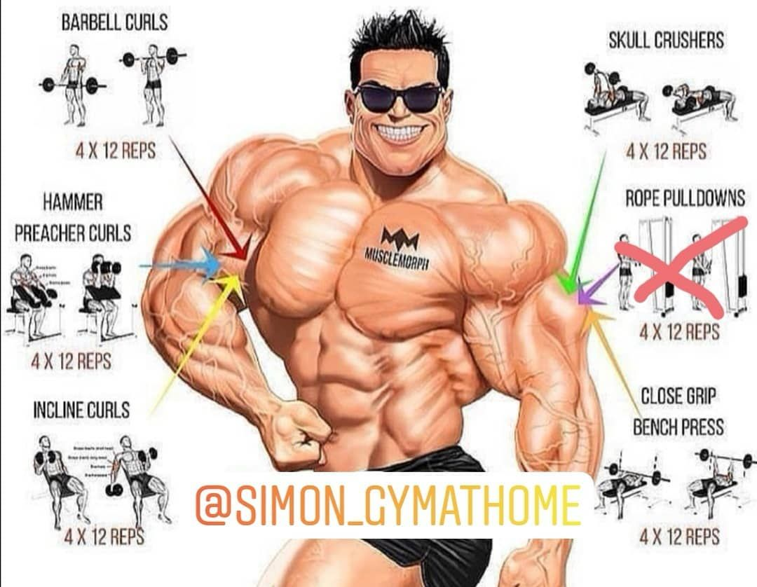 Follow me 🏋🏻♂️💪🏻 gym at home #me#home#gym#bodybuilding#fitness#cardio#cro...