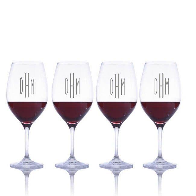 7e678d5de38 Custom Crystal Vinum Red Wine Bordeaux Glass 2pc. Set by Riedel ...
