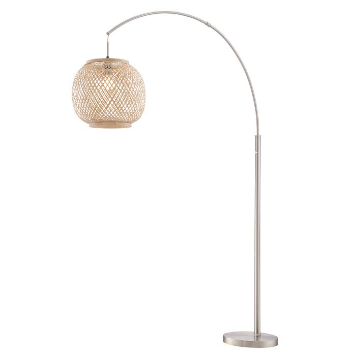 Every day is a vacation with the villa arch floor lamp our villa collections beachy chic style will make you feel like youre sitting back in tropical