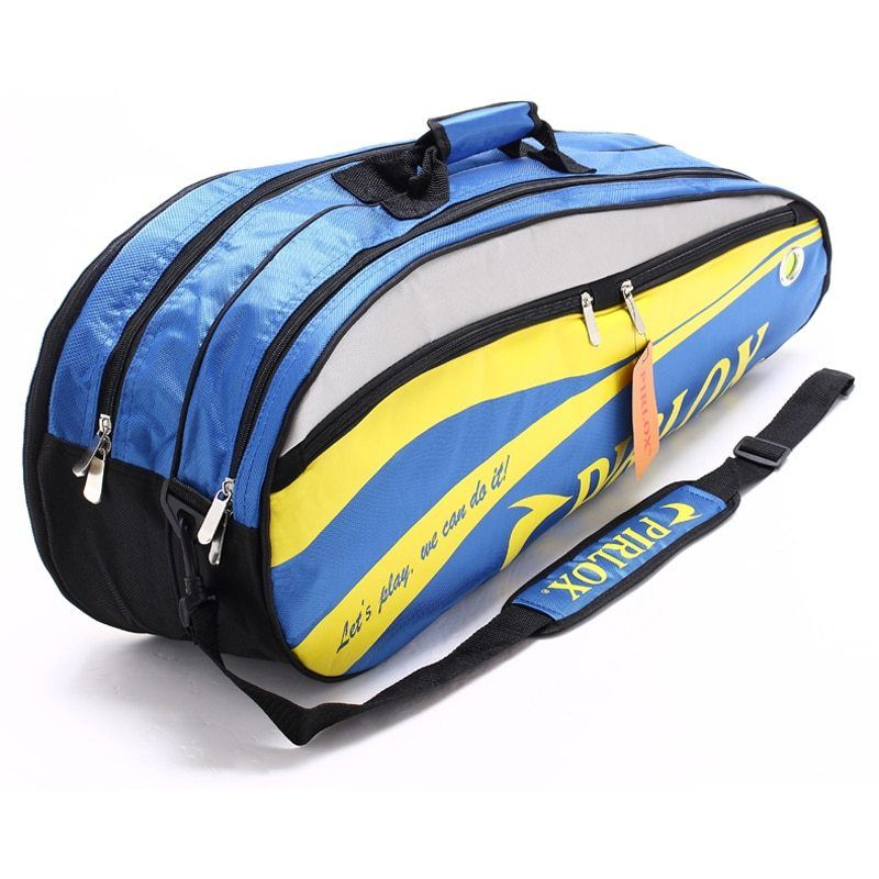 4 6 Pcs Men Badminton Racket Bag Tennis Bags Waterproof Athlete Backpack For Shoes Double Open Zipper Tennis Bag Raquette De Badm Tennis Bags Bags Tennis Bag