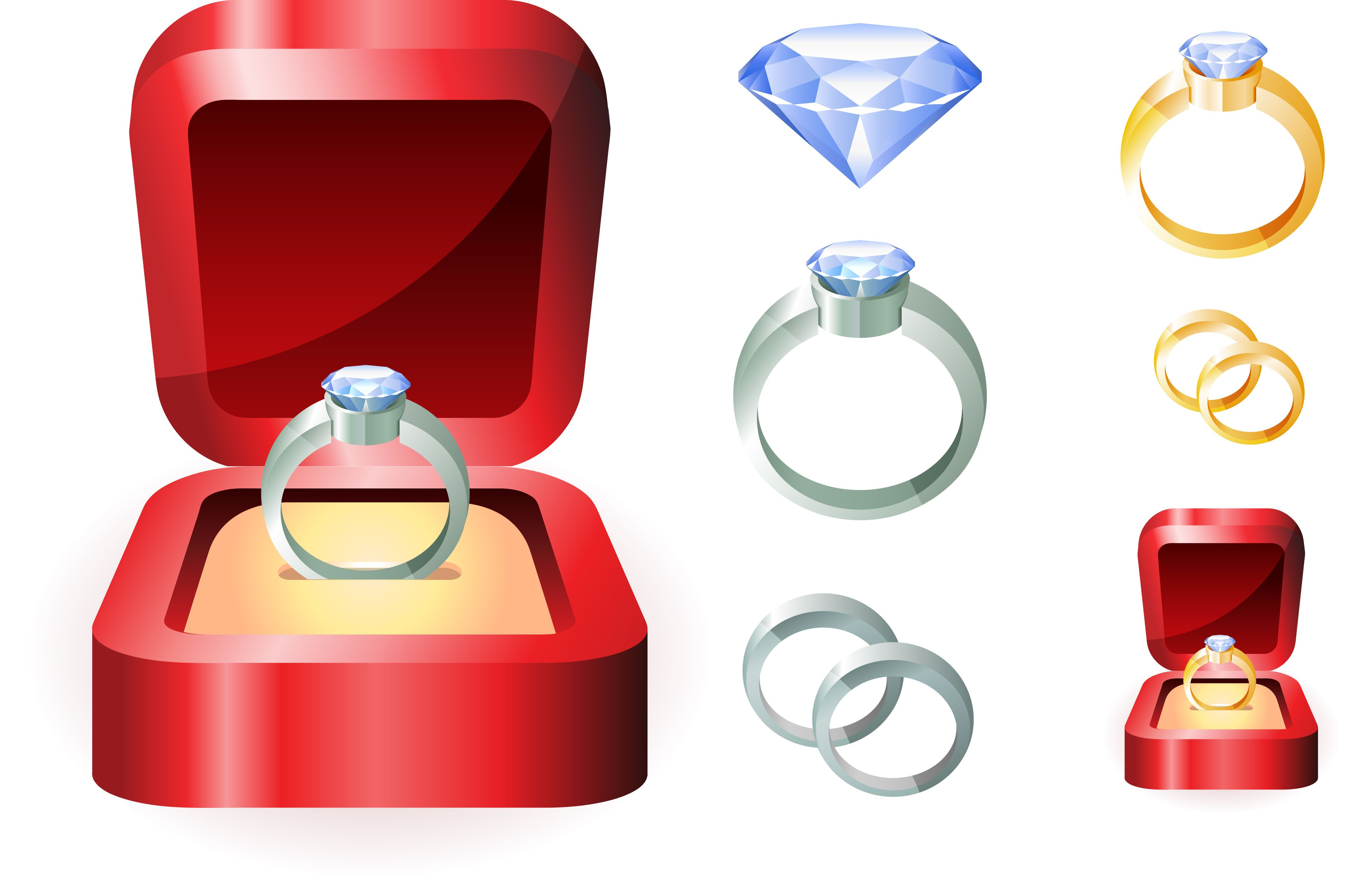 free vector Wedding ring clip art Wedding ring vector