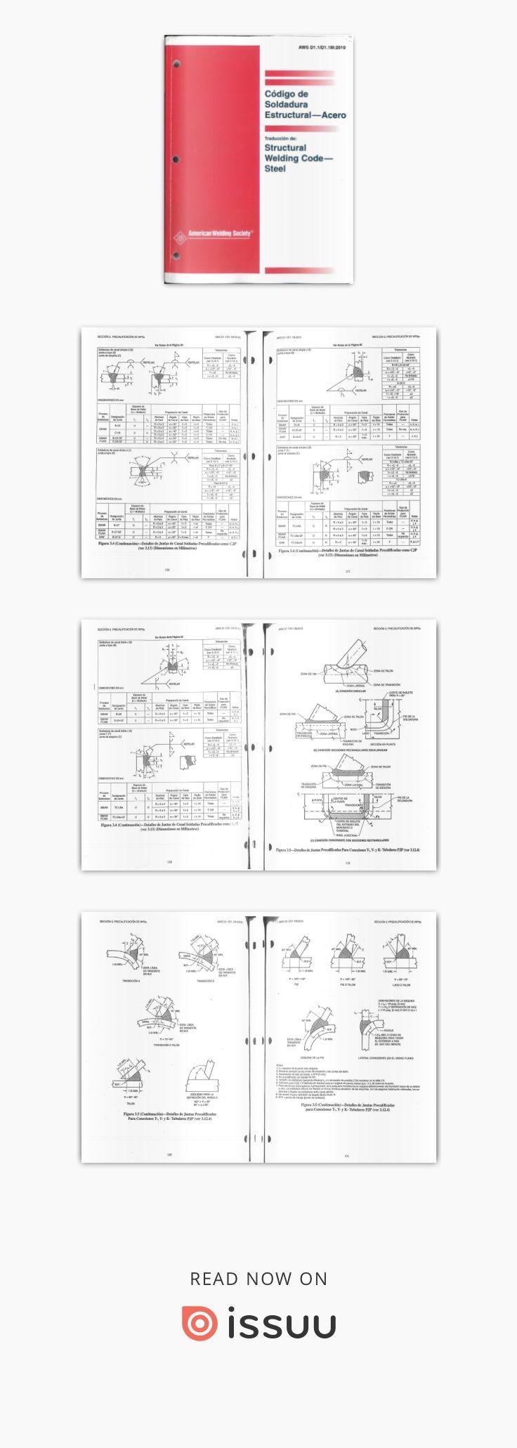Codigo De Soldadura Estructural Acero Aws D1 1 2010 Espanol Parte 1 Personalized Items Bullet Journal Journal