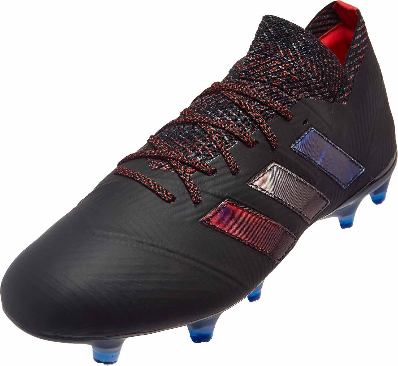 Detalles acerca de Adidas Azul Hombres nemeziz 18.1 Fg Botines Fútbol Fútbol Zapatos Botas Spike DB2080 mostrar título original