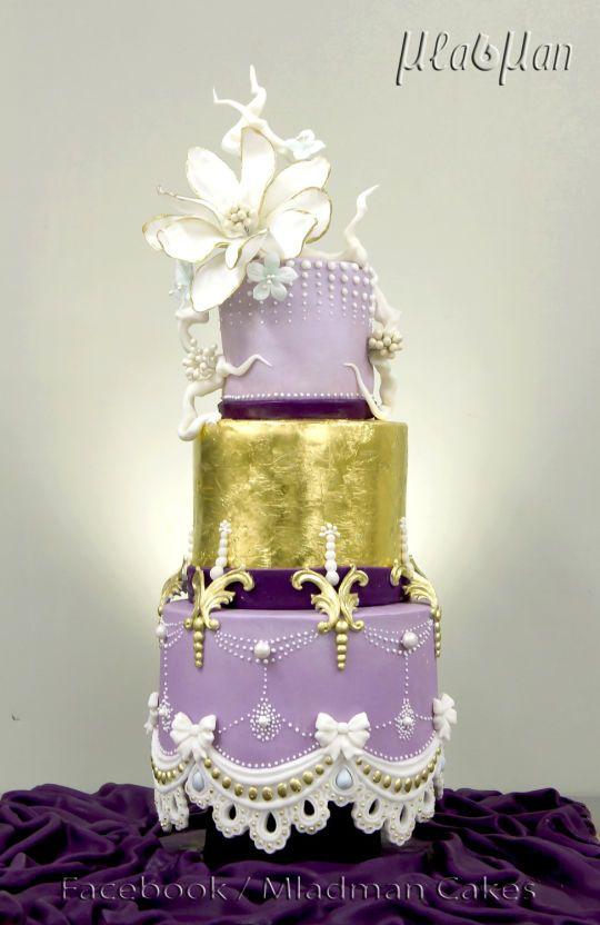 Timide gâteau de magnolia