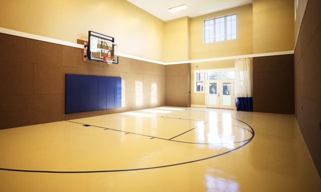 Http Www Mcewancustomhomes Com Blog Wp Content Uploads 2011 08 M Gym Final Jpg Now This Is Something My Youngest Cancha De Basket Canchas Arquitectura