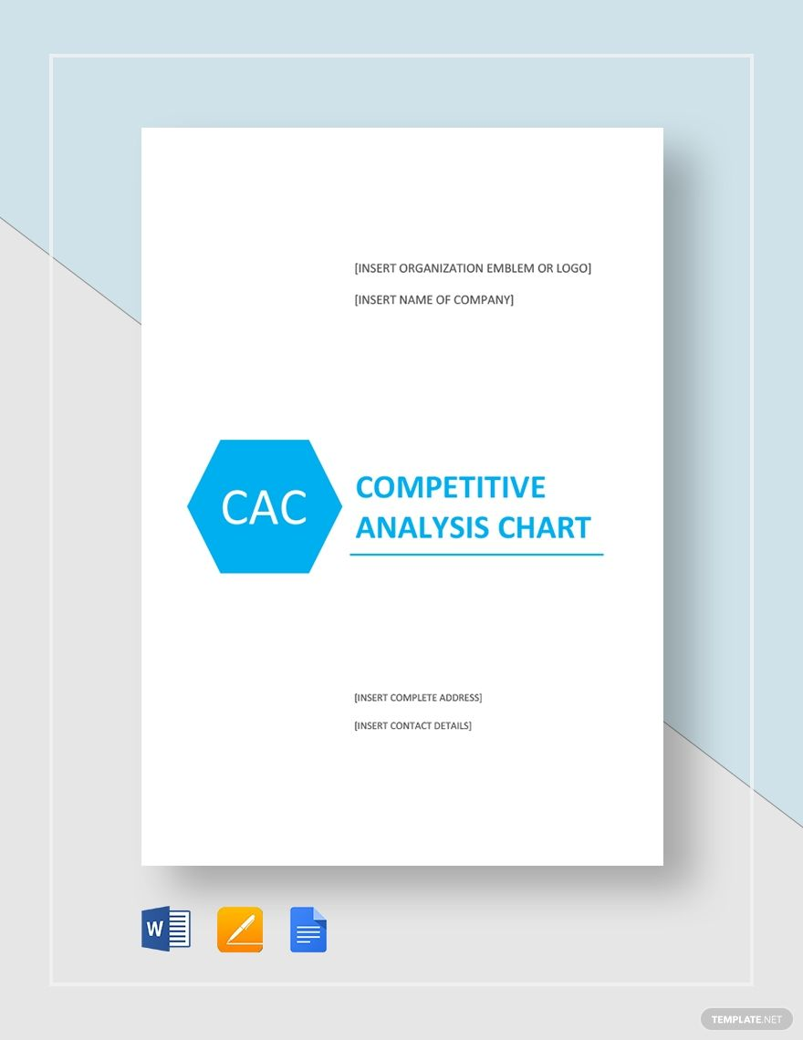 Competitive Analysis Chart Template Free Pdf Word Apple Pages Google Docs Competitive Analysis Analysis Templates