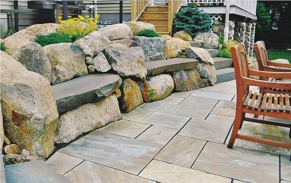 rock gardens front yard clc landscape
