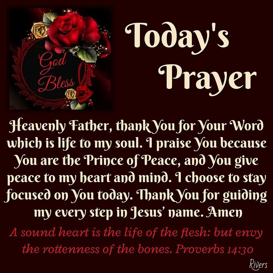 Todays Prayer Quotes Today's Prayer Good Stuff  Pinterest  Scriptures