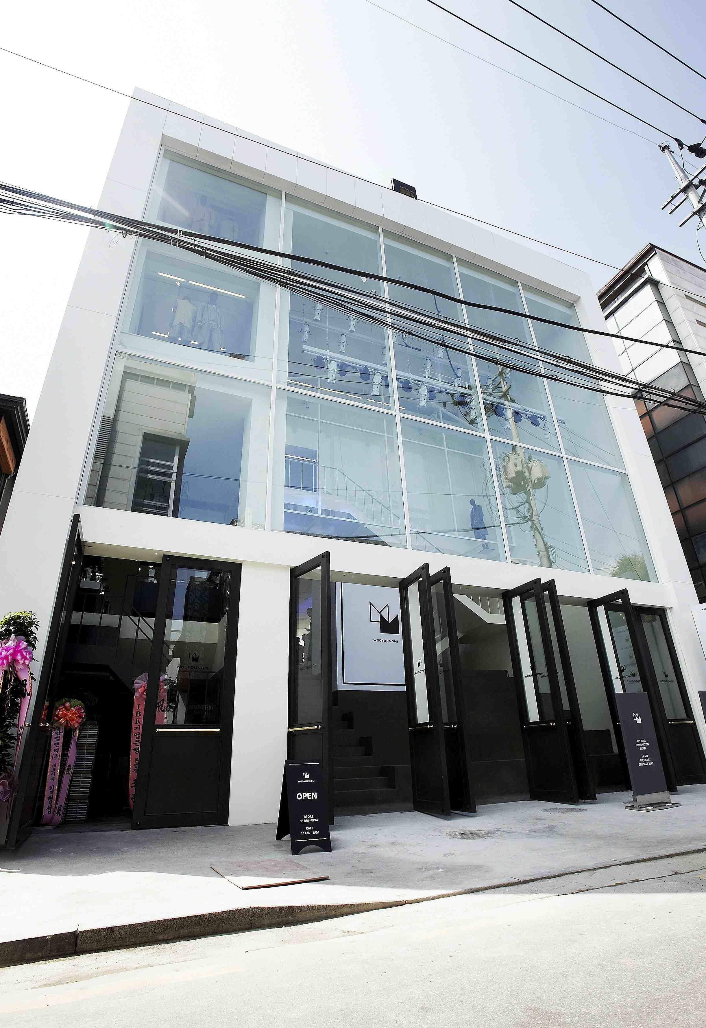 Innenarchitektur Veranstaltungen manmade wooyoungmi seoul in shinsa dong stores in