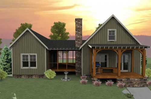 Summer Cottage House Plans Design, Pictures, Remodel, Decor and ...