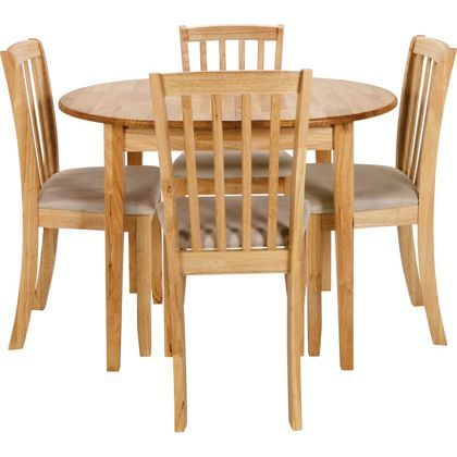 Banbury Extending Dining Table And 4 Chairs At Homebase