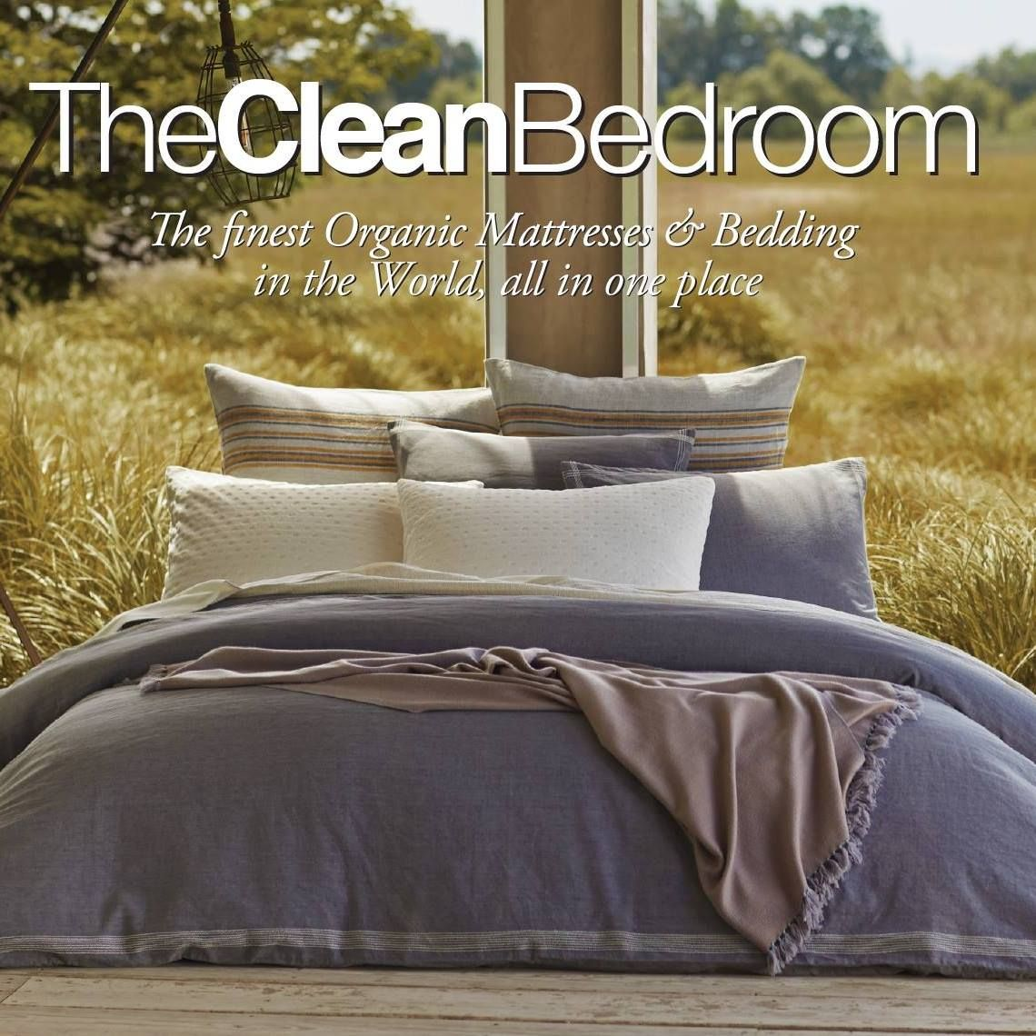 The Clean Bedroom Organic mattresses, Clean bedroom
