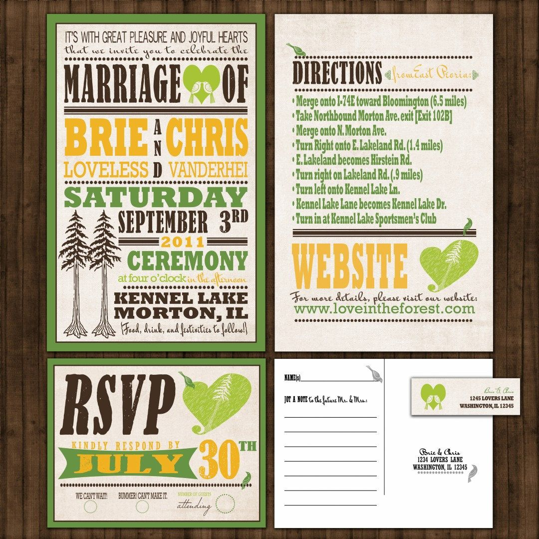 Amazing Wedding Invitation Pack Picture Collection Invitation Card