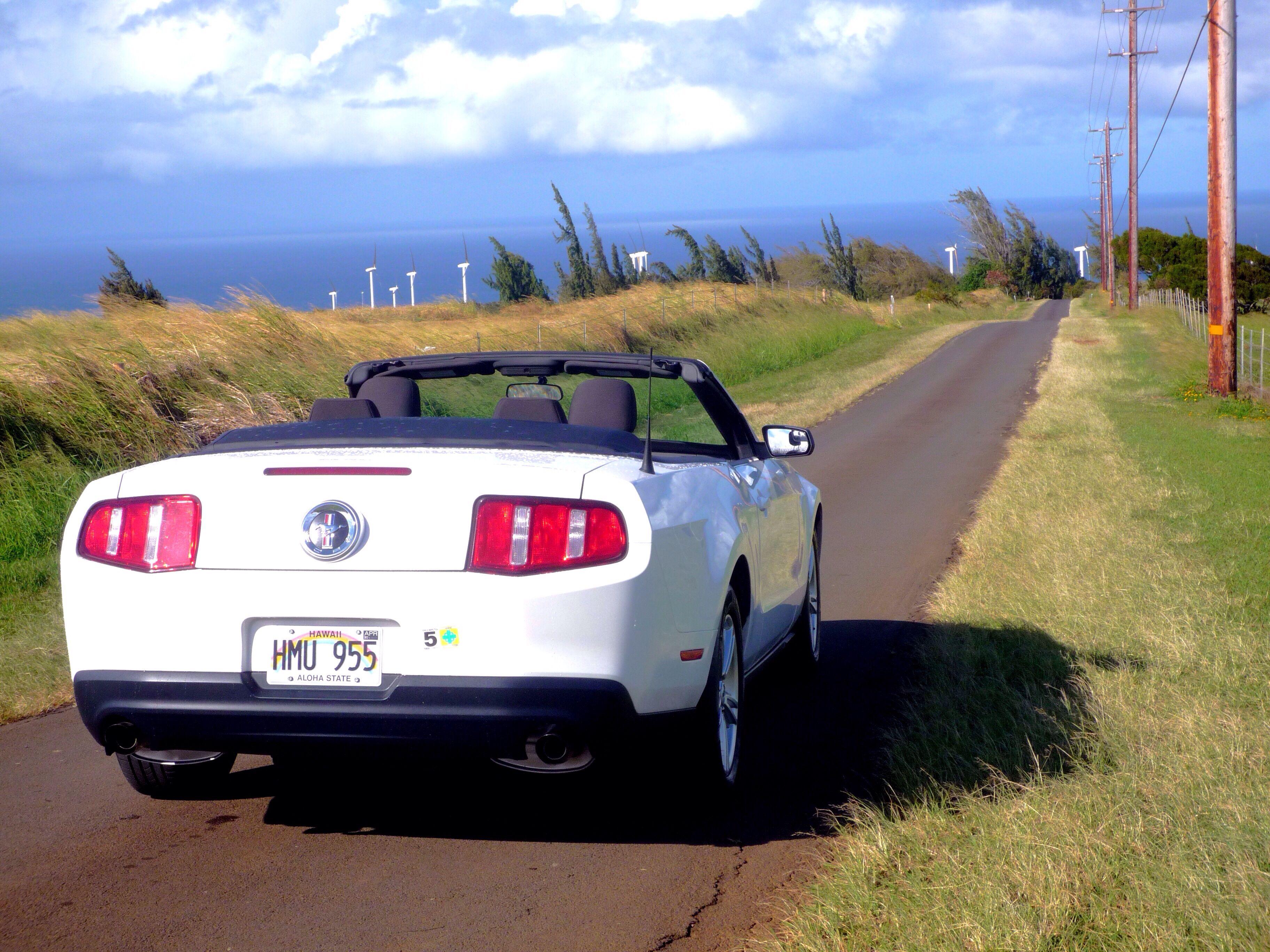 Hawaii Car Rental >> Mustang Convertible Big Island Hawaii Car Rentals Big Island
