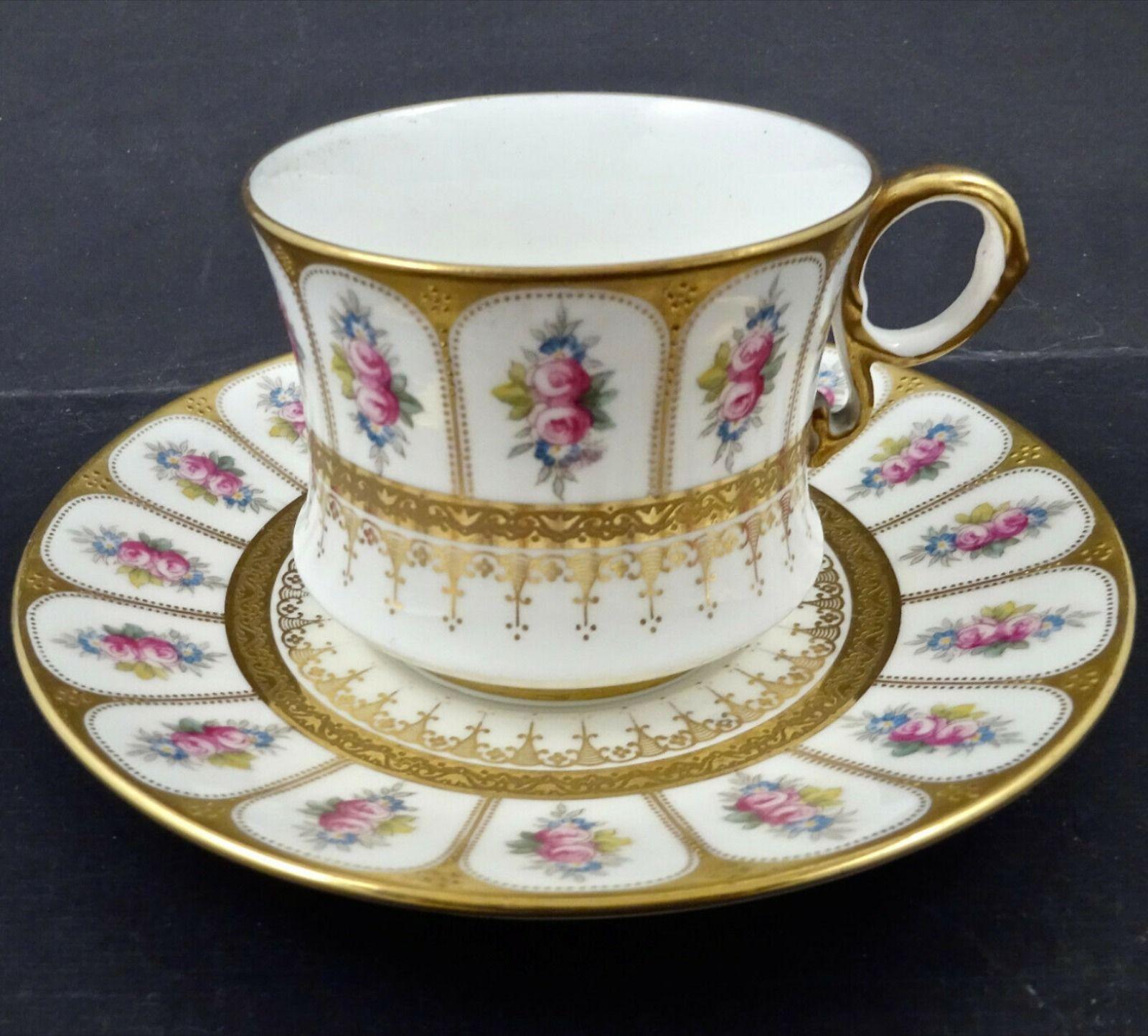 Antique Cauldon Tea Cup Saucer In 2020 Tea Cups Antique Tea Cups Tea