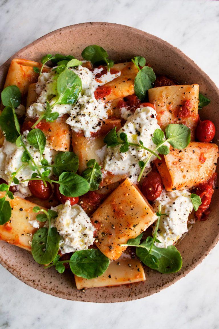 Simple Cherry Tomato Pasta - The Original Dish