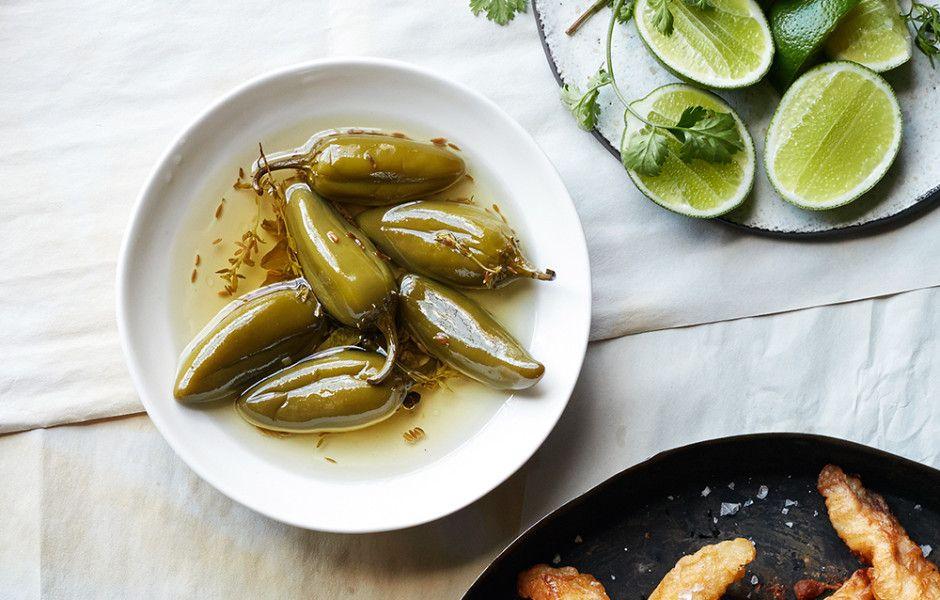 Pickled Jalapeños Recipe Recipe Condiment recipes