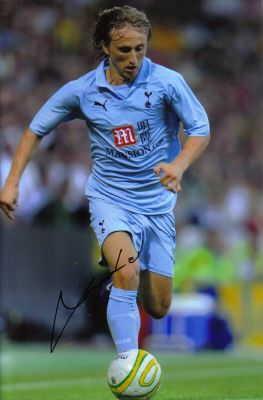 Welcome to BIG! autographs.com - The Home of Celebrity & Sporting Memorabilia :: Luka Modric