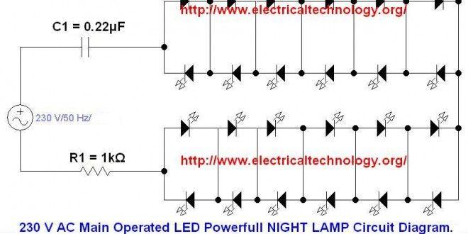 230 V 50hz Ac  Or 110v 60hz  Main Operated Led Powerful