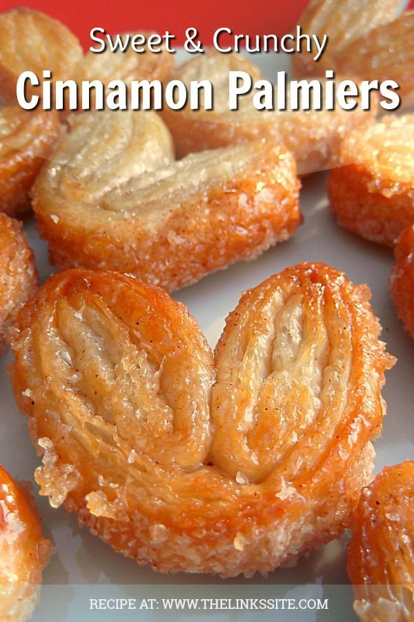 Sweet and Crunchy Cinnamon Palmiers | The Links Si