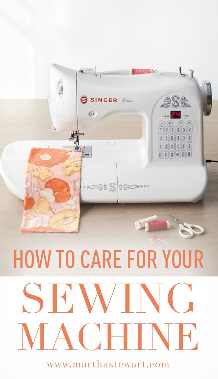 How to Care for Your Sewing Machine | Martha stewart, Shapes and ...