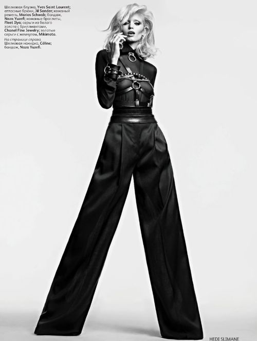 Abbey Lee Kershaw | Hedi Slimane | Vogue Russia April 2011 - 3 Sensual Fashion Editorials | Art Exhibits - Anne of Carversville Women's News